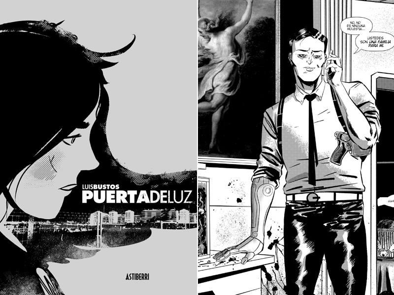 Portada y página de 'Puertadeluz'