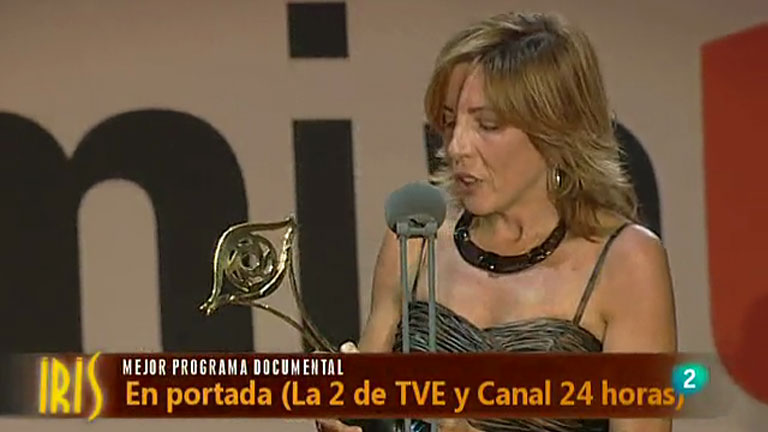 En Portada, premio IRIS al mejor programa documental