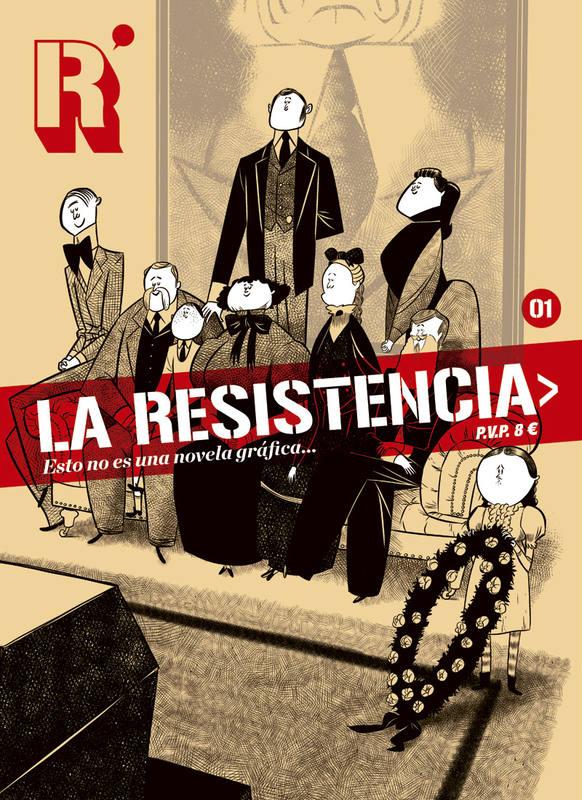 Portada de 'La Resistencia', de José Luis Ágreda