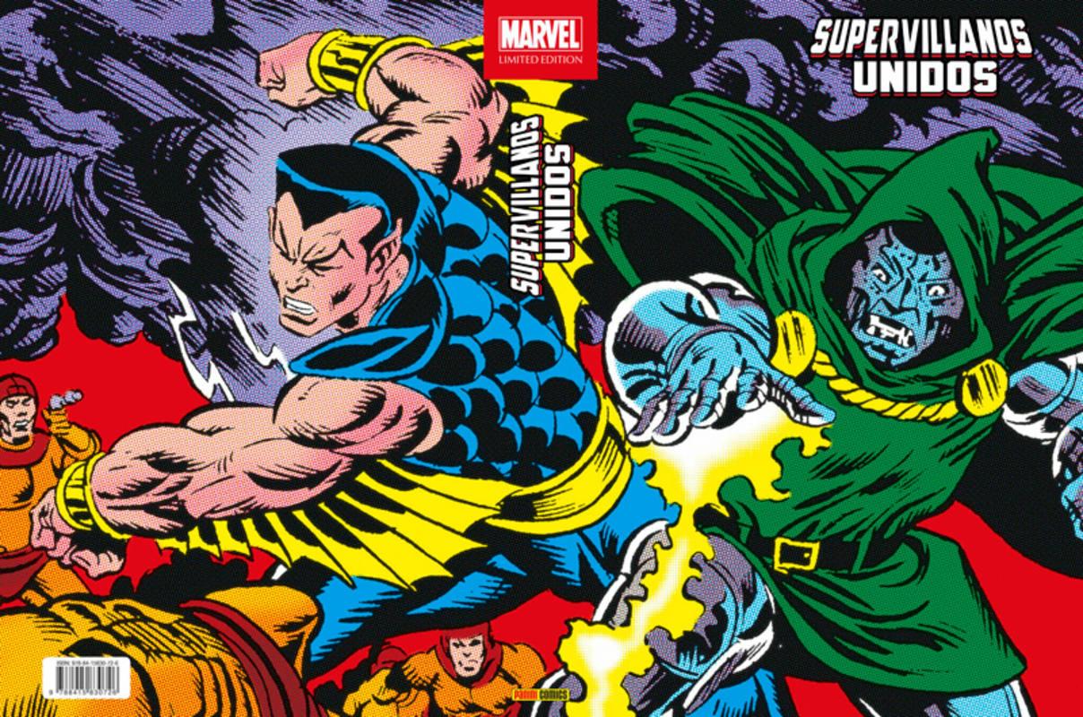 Portada de 'Supervillanos unidos'