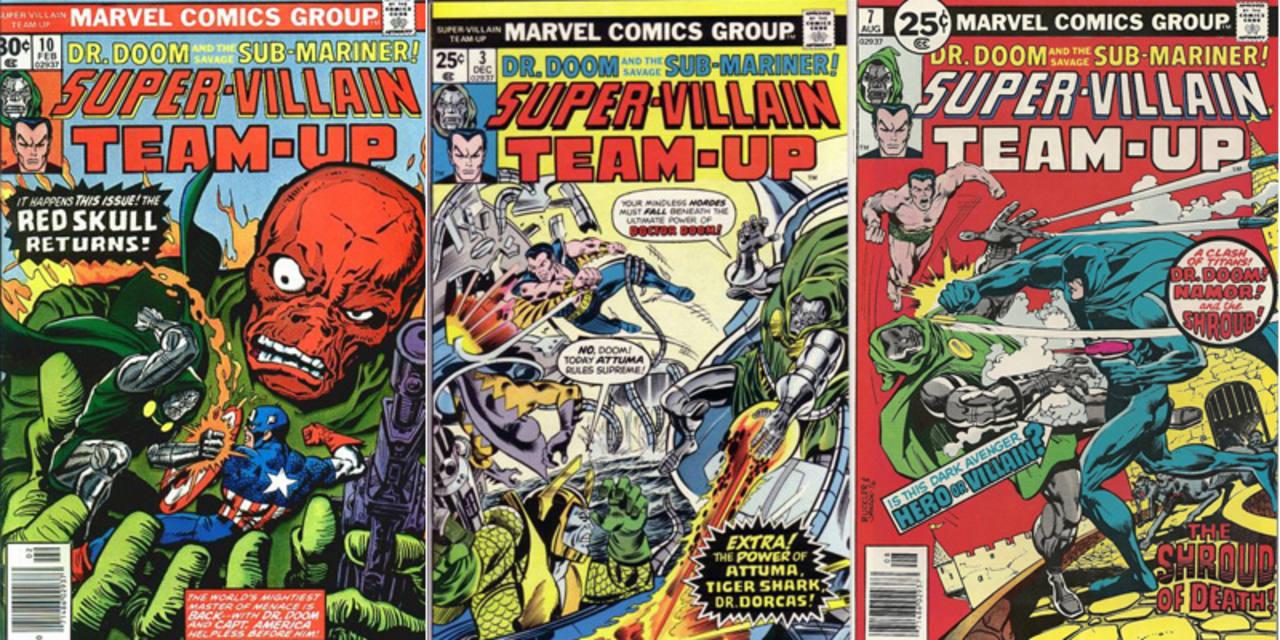 Portadas americanas de 'Supervillanos unidos'