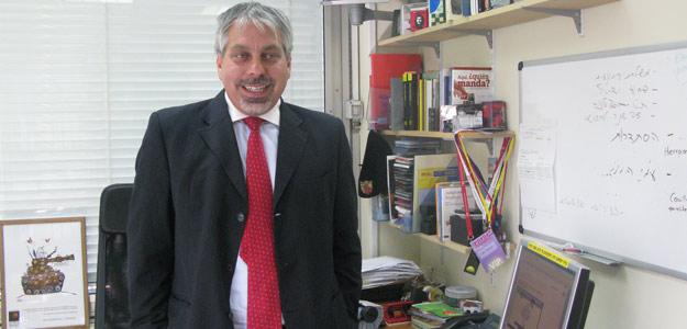 El portavoz de la embajada de Israel en España, Lior Haiat