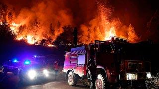 Los bomberos controlan el fuego en Góis, el último foco del incendio en Portugal