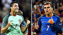 Ir al VideoPortugal y Francia se juegan en París la gloria europea