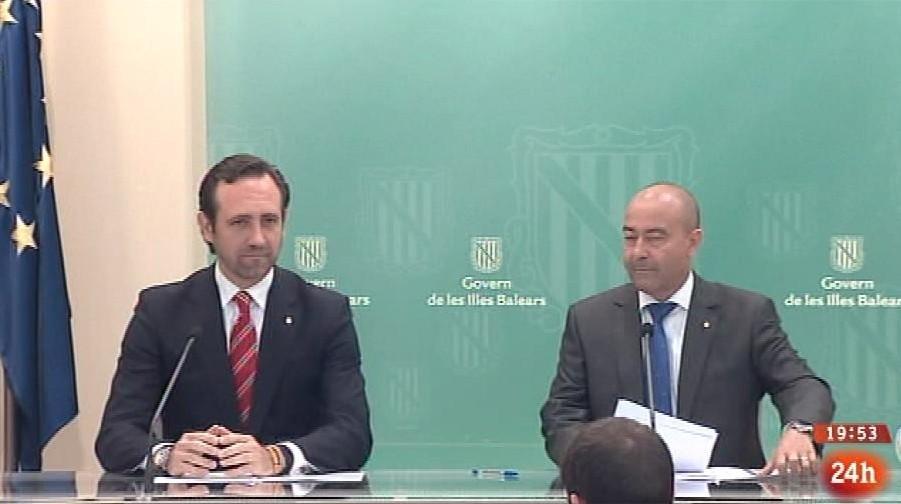 Parlamento - Otros parlamentos - Posible reducción de diputados en Baleares - 03/05/2014