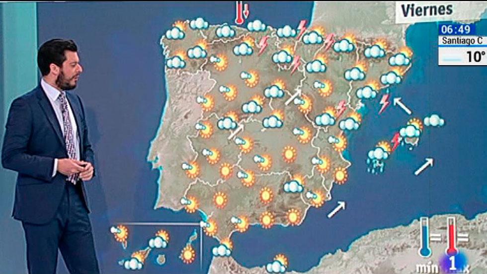 Posibles chubascos fuertes en navarra catalu a castell n - El tiempo torreblanca castellon ...