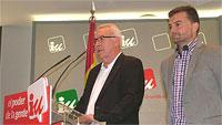 Ir al VideoPP y PSOE agradecen al rey su dedicación mientras IU pide un referéndum entre monarquía y república