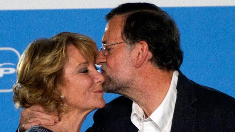 """PP y PSOE coinciden en el """"respeto"""" a la decisión de Aguirre"""