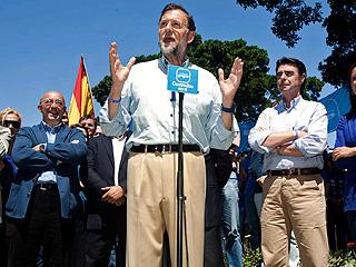 Ver vídeo  'PP y PSOE continuan en la batalla electoral'