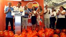 Ir al VideoPPC y Ciutadans hacen sus propios actos de la Diada y reivindican la unión de los catalanes