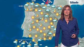 Precipitaciones en la cornisa cantábrica, Alto Ebro y Pirineos