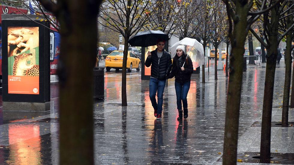 Precipitaciones persistentes en el norte de Galicia
