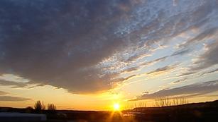 Predominio de cielos nubosos en todo el país