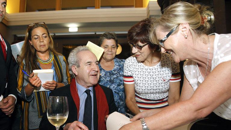Todos los premiados con el Príncipe de Asturias ya están en Oviedo