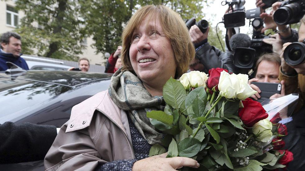 Premio Nobel de Literatura para la bielorrusa Svetlana Alexievich