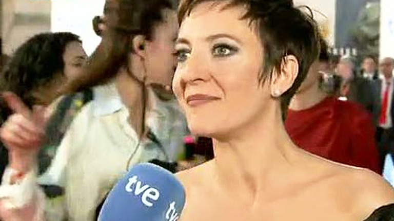 """Premios Goya 2012 - Eva Hache: """"Estoy preparada para que me maten; preparada para todo"""""""
