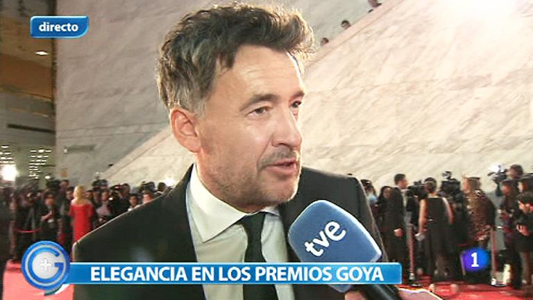 """Premios Goya 2012 - Francis Lorenzo: """"Hay trabajos de mucha calidad"""""""