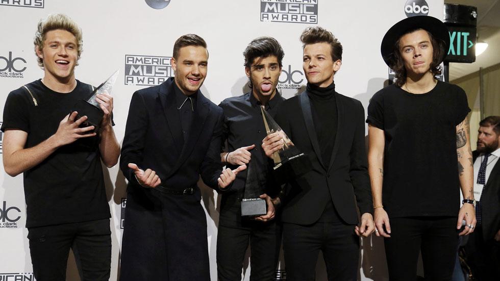One Direction, grandes triunfadores de los Premios de la Música americana