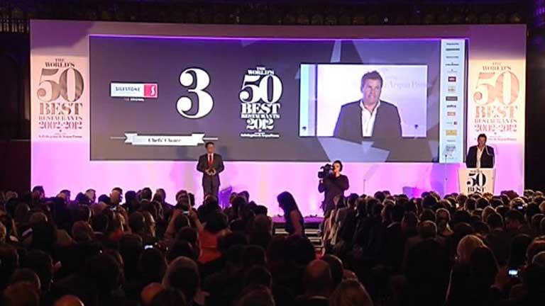 Los premios 'oscar' de la cocina mundial