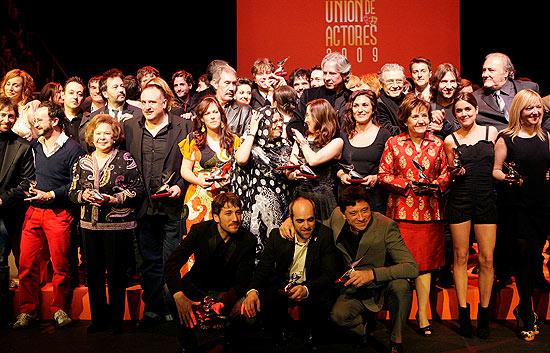 Telediario Matinal - Premios de la Unión de actores