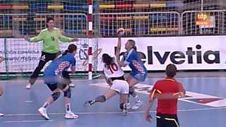 Balonmano - Preolímpico femenino: España - Croacia - 27/05/12