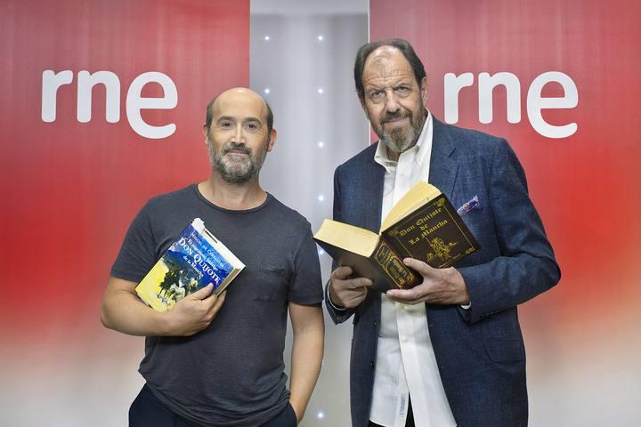 Javier Cámara y José María Pou, un Sancho Panza y un Don Quijote de auténtico lujo.