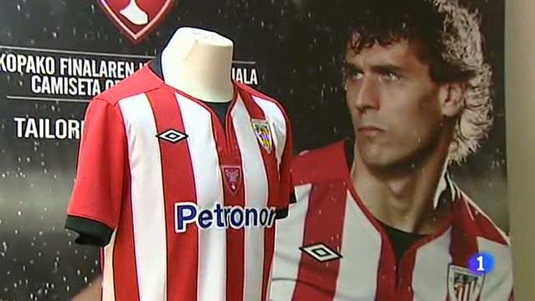 Presentada la camiseta del Athletic para la final de la Copa del Rey