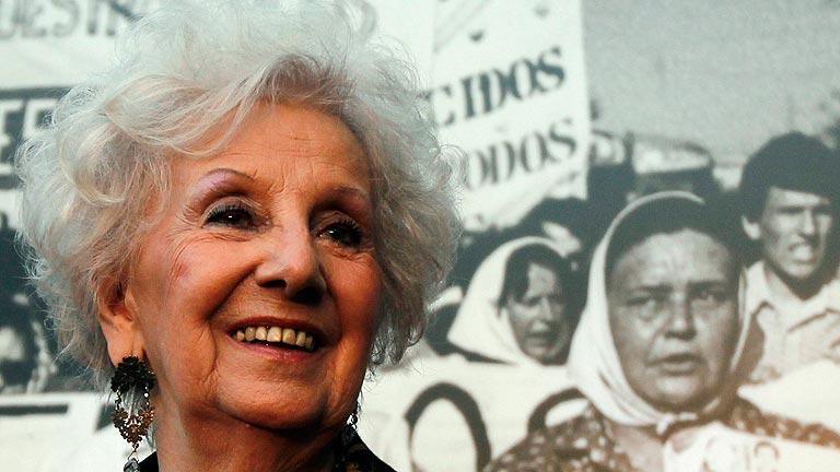 Encuentran al nieto desaparecido de la presidenta de las Abuelas de Plaza de Mayo