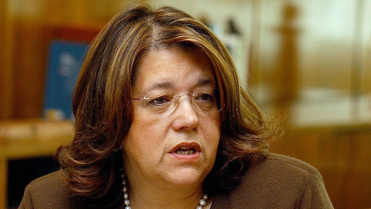 La presidenta de la CNMV, Elvira Rodríguez, en una imagen de archivo