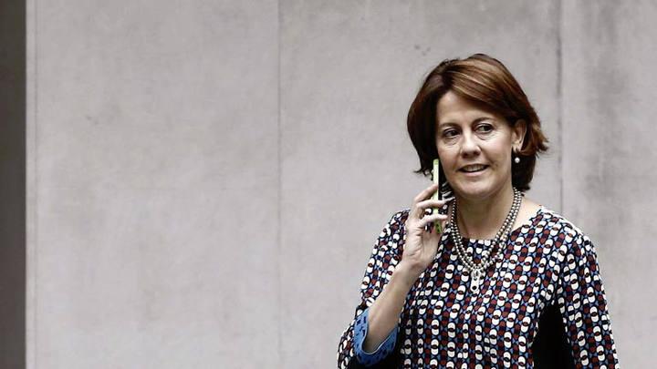 La presidenta de UPN y del Gobierno foral, Yolanda Barcina, en una imagen de archivo.