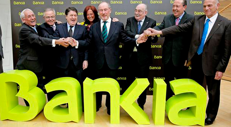 El presidente de Bankia, Rodrigo Rato, cobra al año más de dos millones de euros