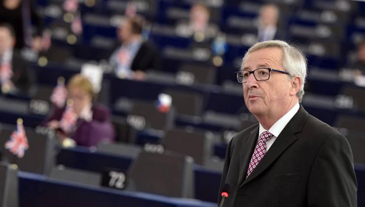 El presidente de la Comisión Europea, Jean Claude Juncker, en el Parlamento Europeo