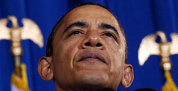 El presidente de EE.UU., Barack Obama durante una reuda de prensa en la Casa Blanca