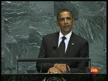 Ir al VideoEl presidente de EE.UU., Barack Obama, hablando en la Cumbre sobre los Objetivos de Desarrollo del Milenio de la ONU