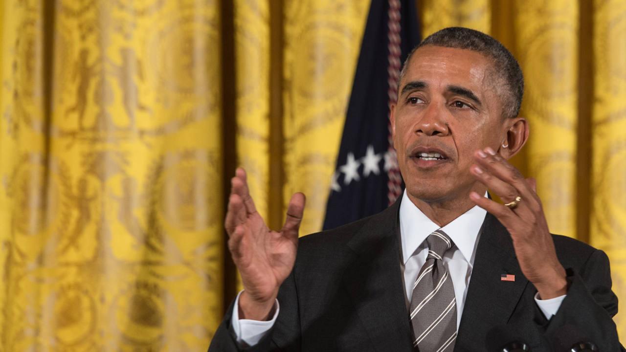 El presidente de EE.UU, Barack Obama, en Washington