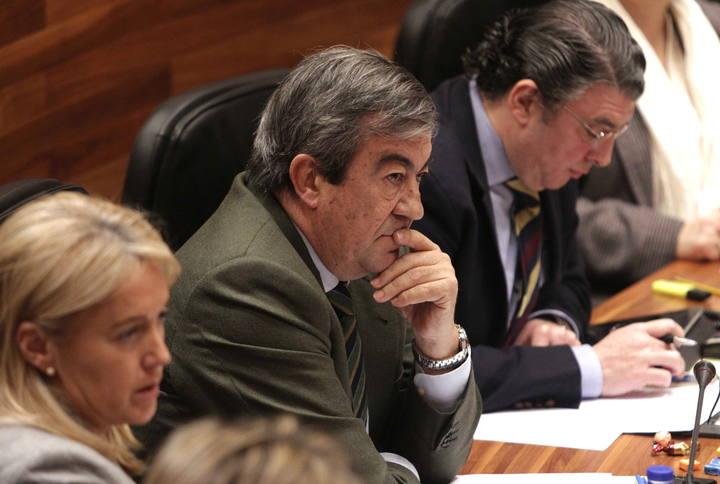 El presidente de Foro Asturias y ex secretario general del PP, Francisco Álvarez-Cascos