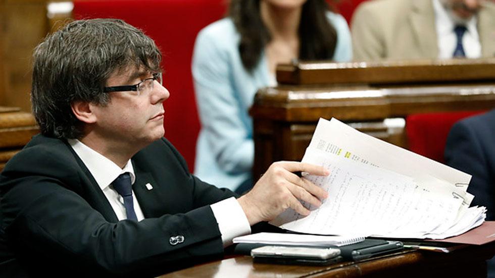El presidente de la Generalitat garantiza que habrá urnas el 1 de octubre para el referéndum de independencia