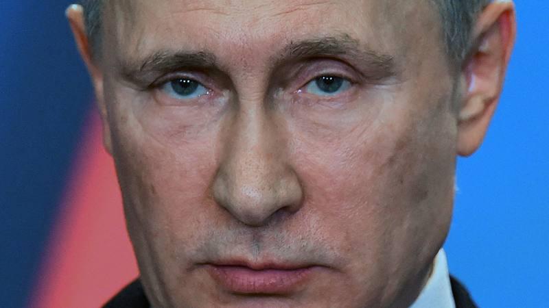 El presidente ruso, Vladimir Putin, fotografiado en Budapest