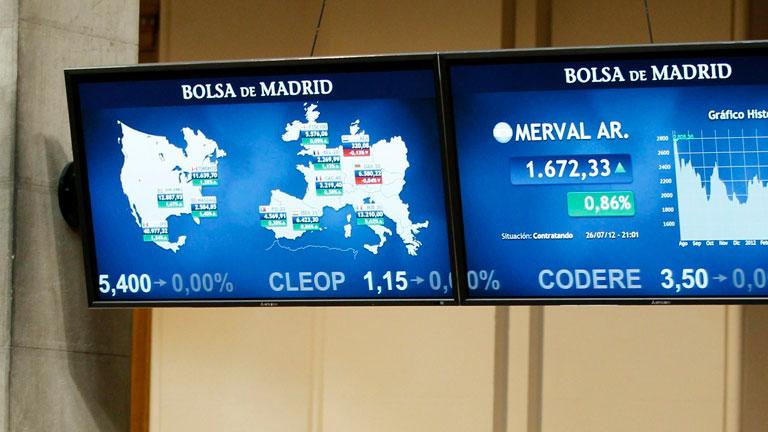 La rentabilidad de la deuda española baja hasta el 6,74% por la posible compra de deuda del BCE