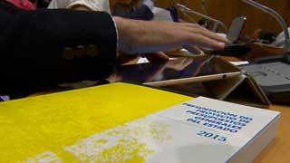 Ver vídeo  'Los Presupuestos para 2015 contemplan una bajada de la recaudación por IRPF del 0,6%'