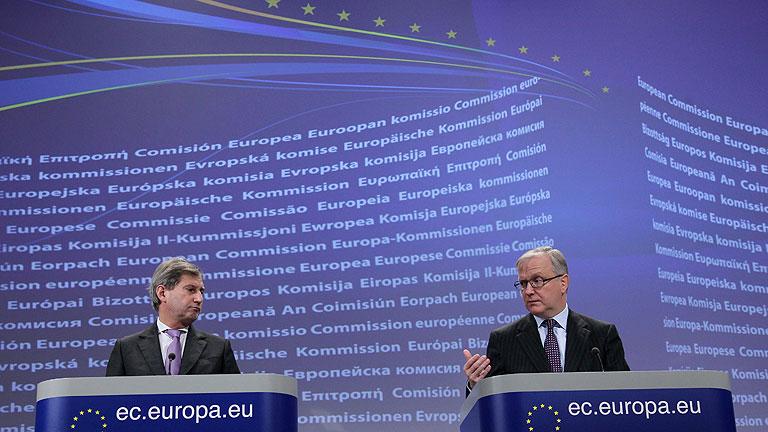 La Comisión Europea dará a conocer este jueves las previsiones económicas para 2012