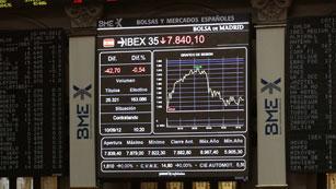 Las Bolsas registran leves pérdidas y la prima de riesgo sigue próxima a los 400 puntos