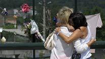 Ir al VideoPrimer aniversario del accidente de tren de Santiago