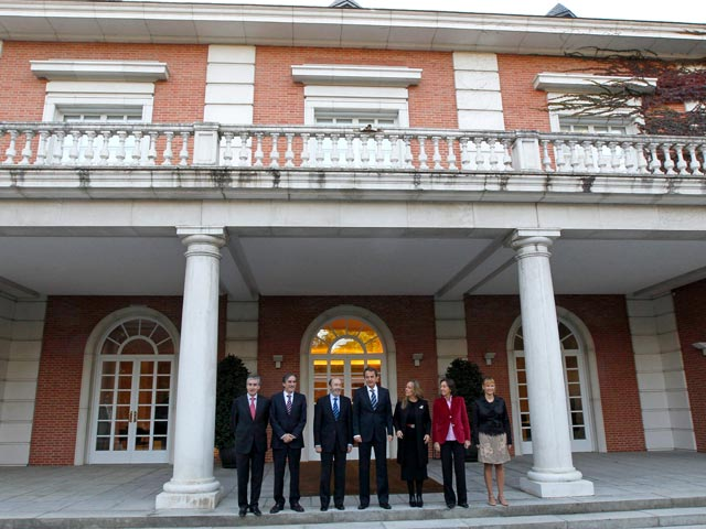 Primer consejo de ministros del nuevo gobierno for Ministros del gobierno