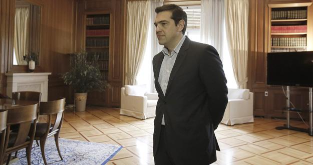 El primer ministro de Grecia, Alexis Tsipras