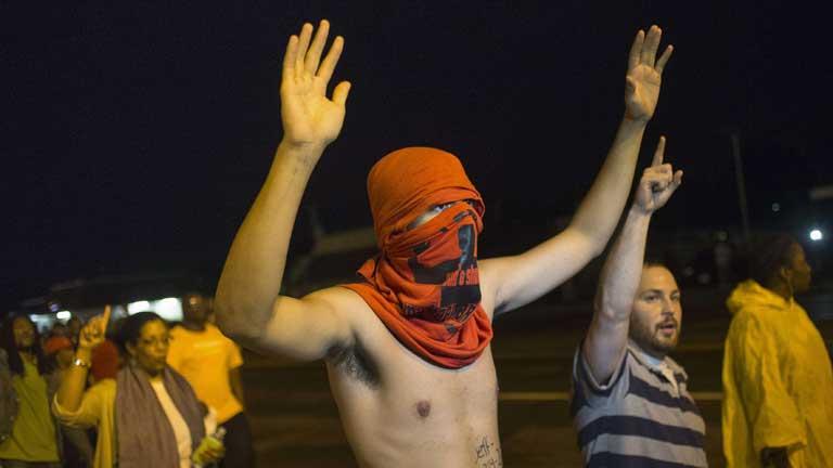 Primera noche de calma en Ferguson