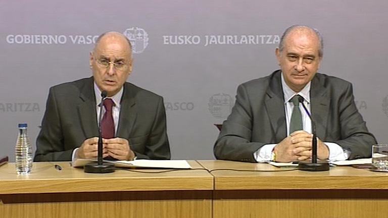 Primera reuni n entre el ministro del interior y el for Ex ministro del interior