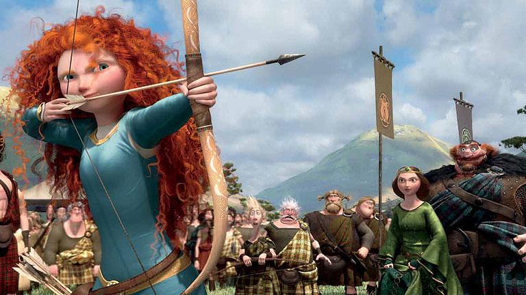 Primera secuencia de 'Indomable' (Brave), la nueva película de animación de Disney-Pixar
