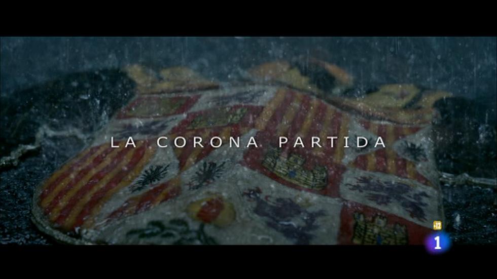 Primeras imágenes de 'La corona partida', en 'El mundo de Carlos'