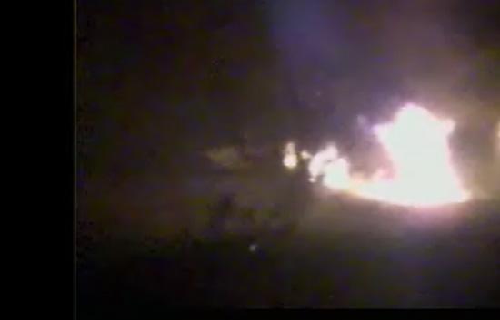 Primeras imágenes tras la explosión en Burgos